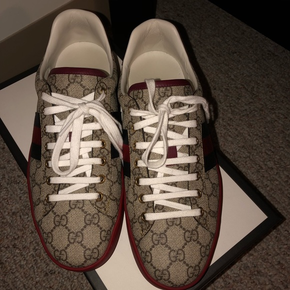 080586881a2 Gucci Other - Men s Gucci ace GG supreme sneaker